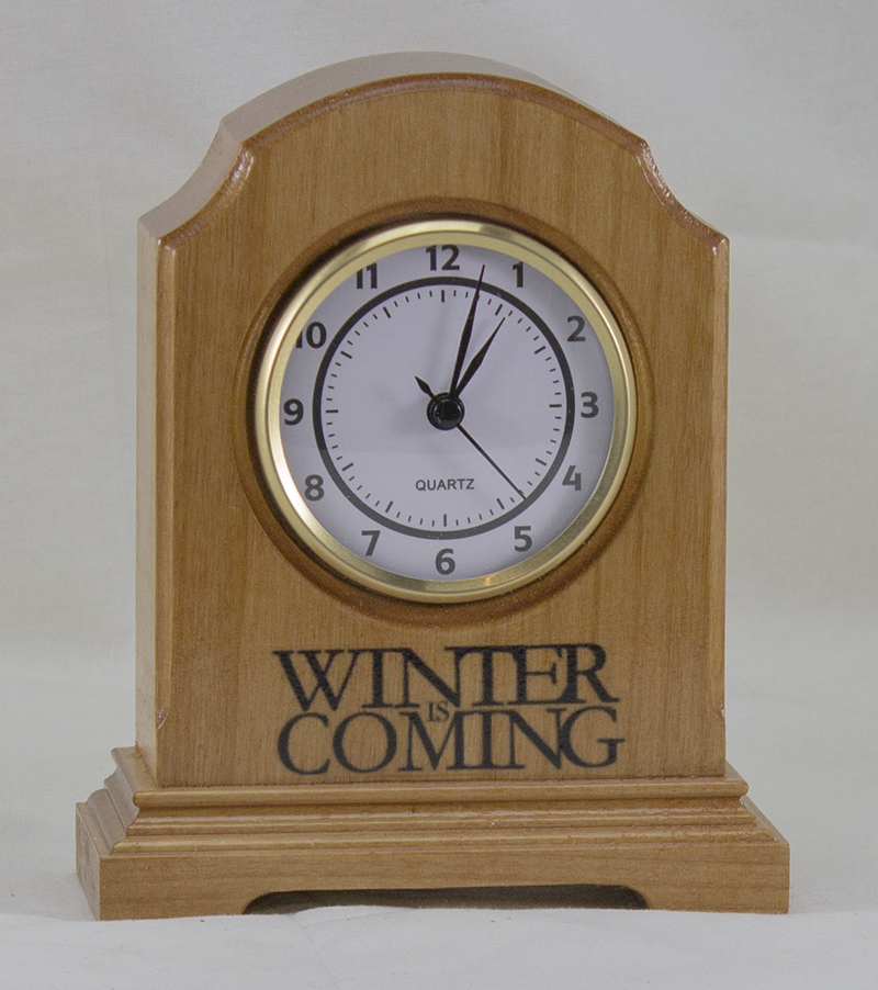 Desk Clock - William Arch Style - Game of Thrones