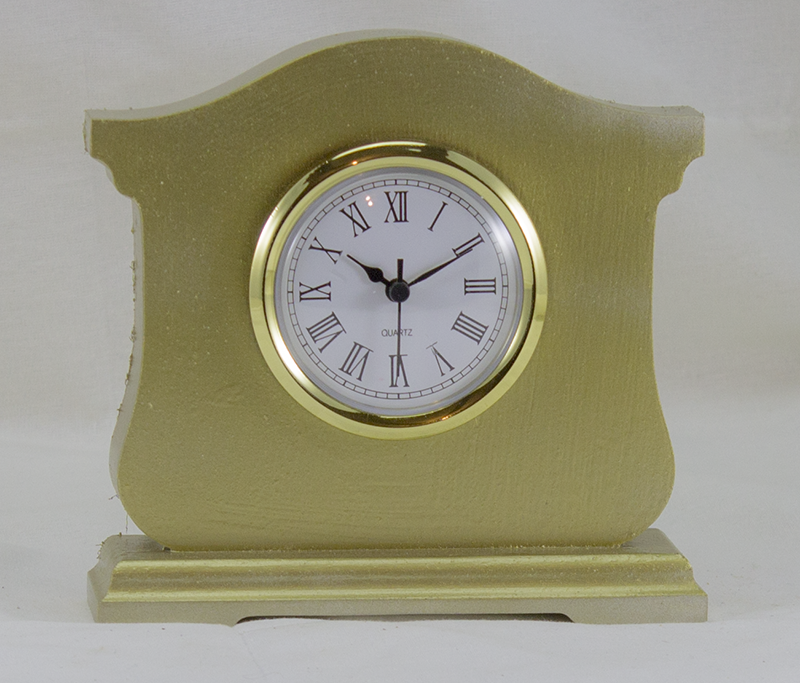 Desk Clock - Beresford Style - Gold