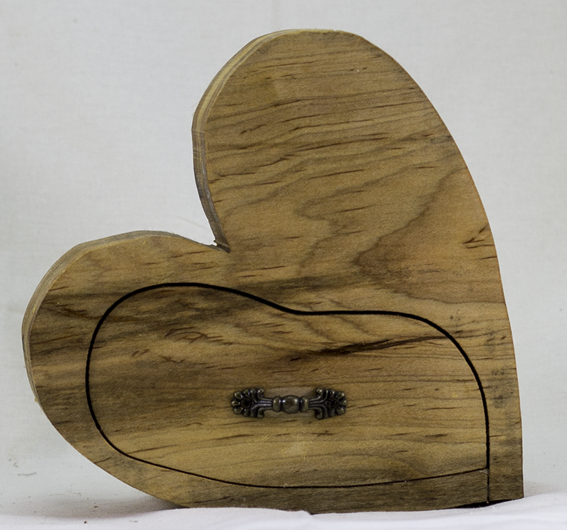 O' Heart of Mine - Bandsaw Box