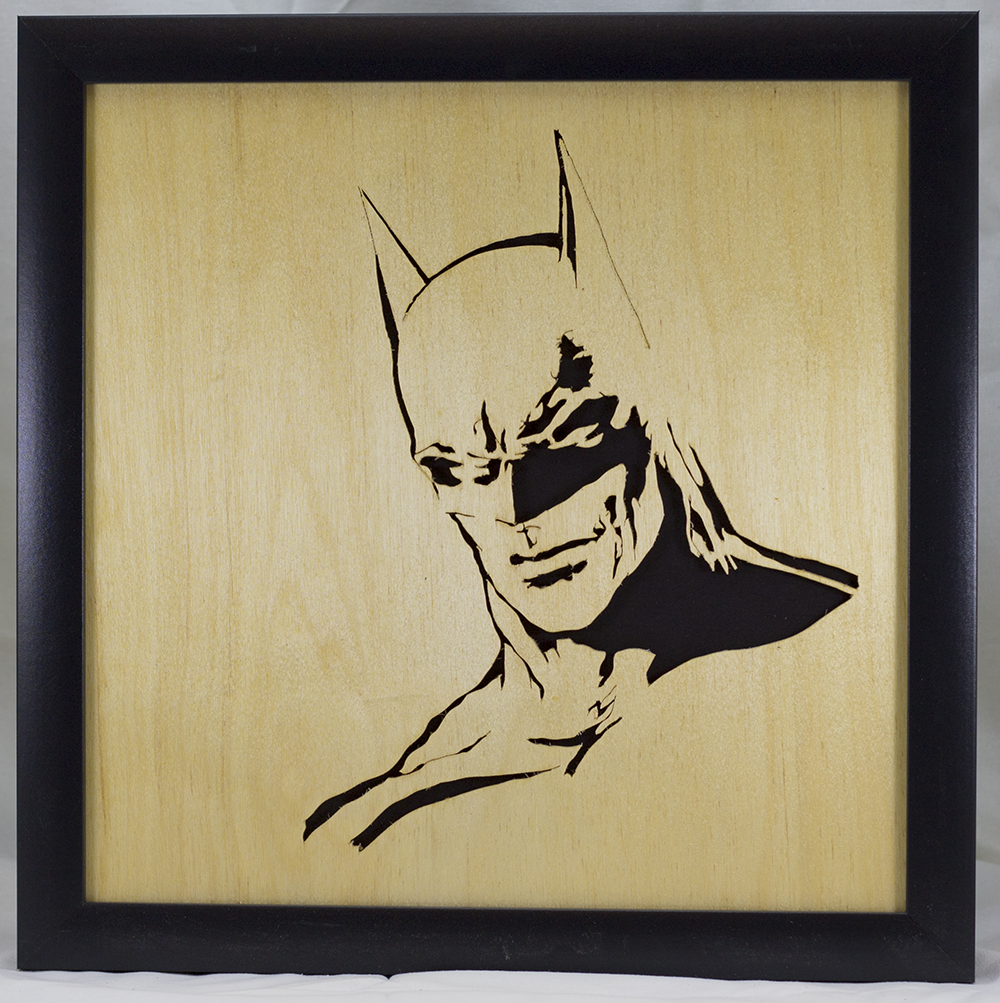 Scroll Art - Batman