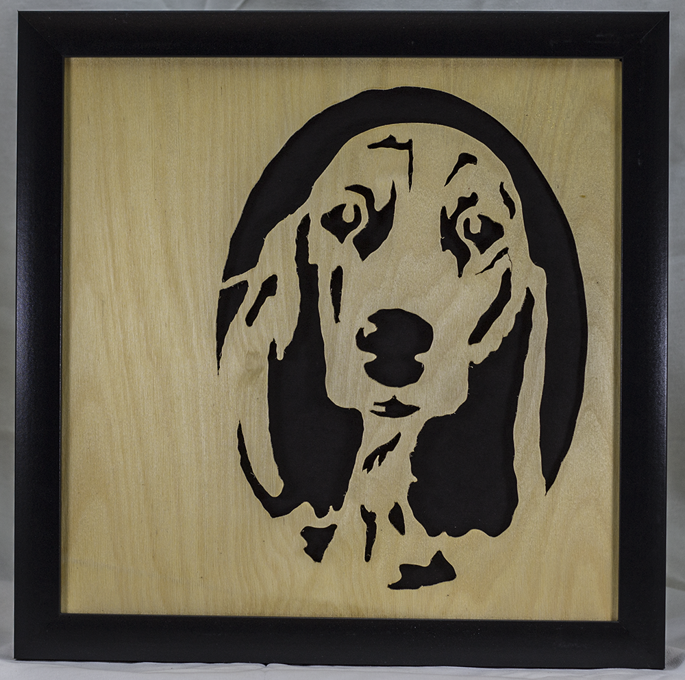 Scroll Art - Hush Puppy