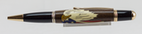Gatsby 24kt Gold Twist Pen with Laser Inlaid Eagle