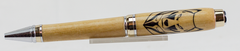 Dog Lovers Pen - Big Ben 24kt Gold and Chrome
