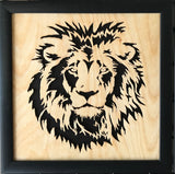 Scroll Art - King of the Jungle