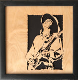 Scroll Art - Stevie Ray