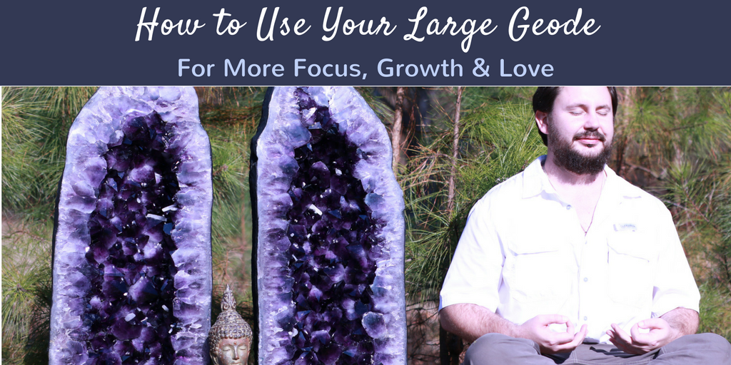 How To Use a Large Geode