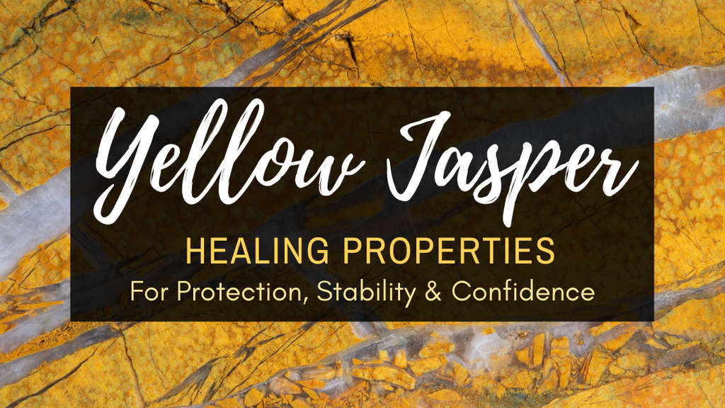 Yellow Jade Healing Properties for Protection, Stability & Confidence