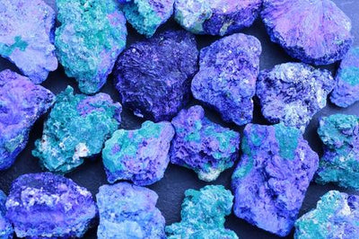Natural Azurite Gemstones
