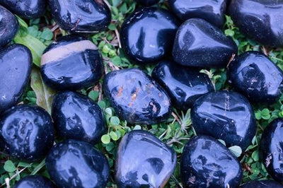Natural Black Onyx Gemstones