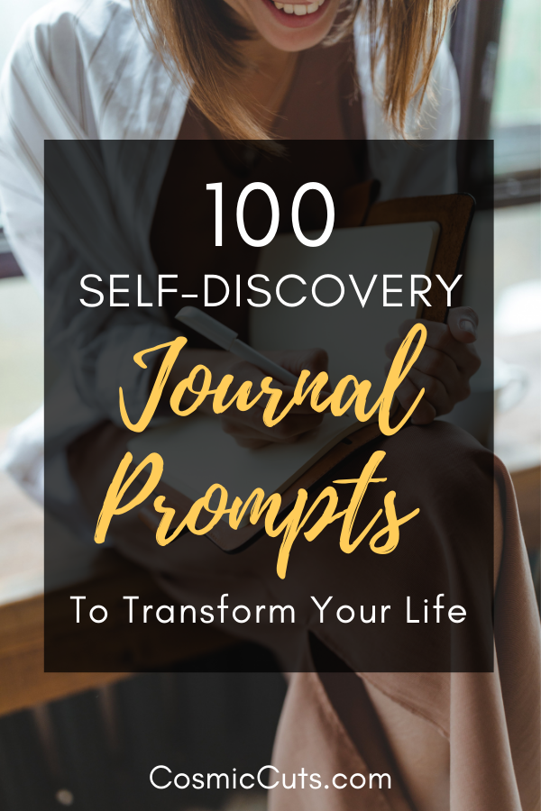 100 Self-Discovery Journal Prompts to Transform Your Life