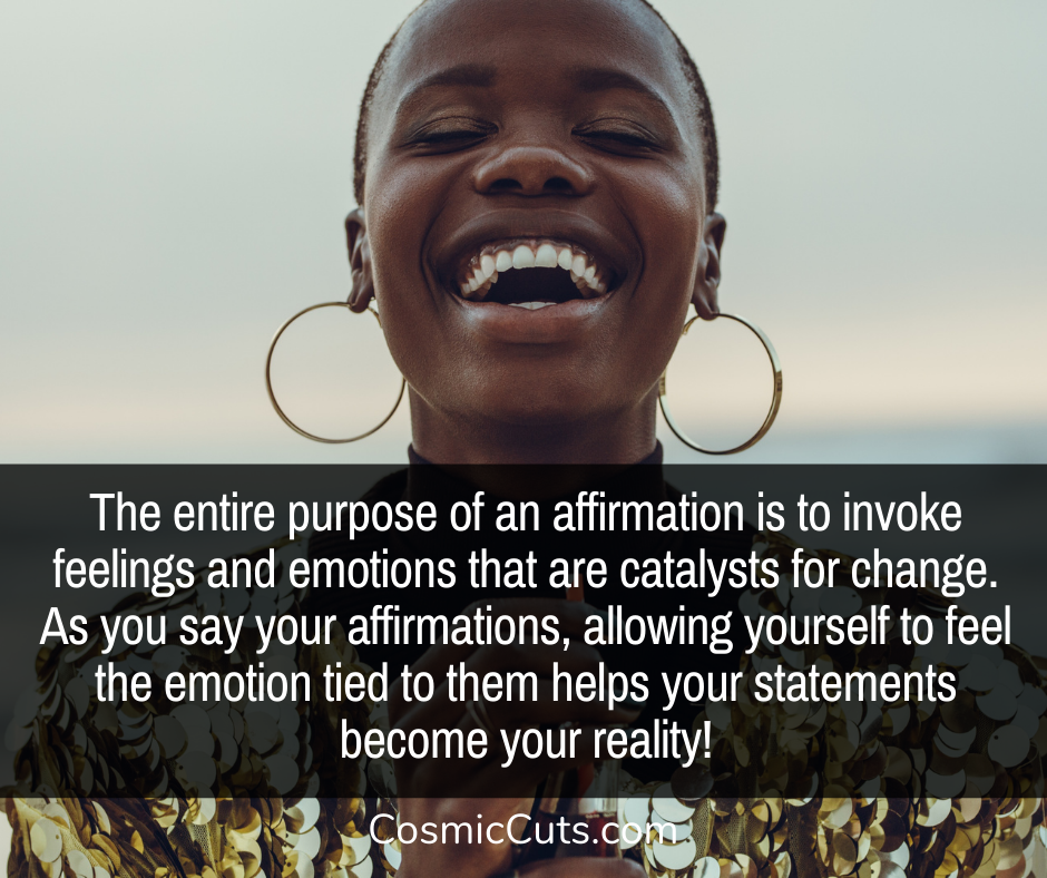 Affirmations and Emotions