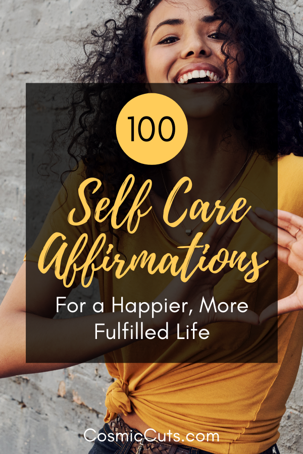 Affirmations for Self Care