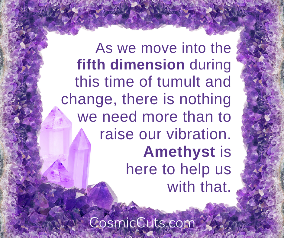 Spiritual Properties of Amethyst - Raise Your Vibration