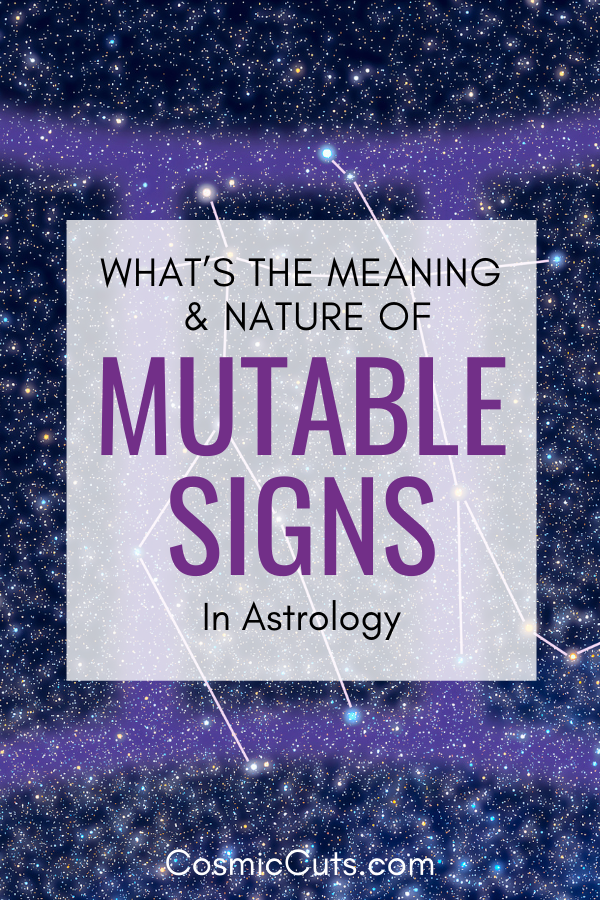 Astrology Mutable Signs