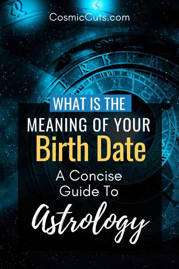 Birth Date Meaning