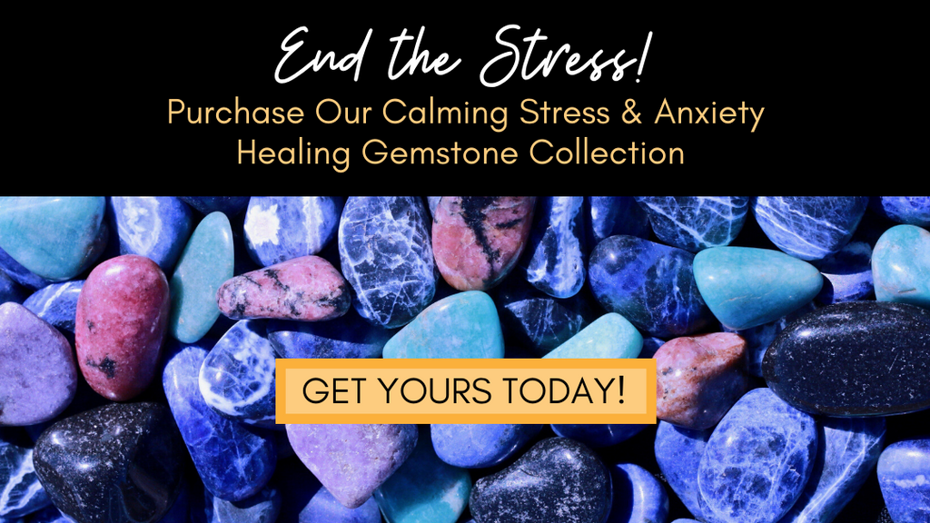 Calming Crystals Healing Gemstone Collection