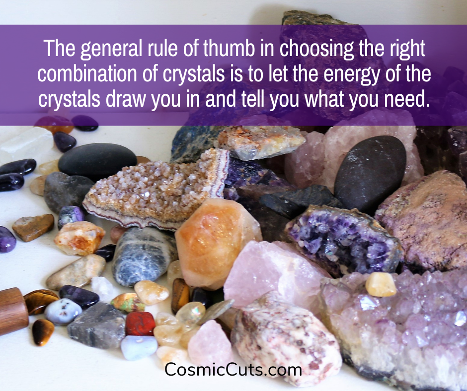 Can You Put Different Crystals Together