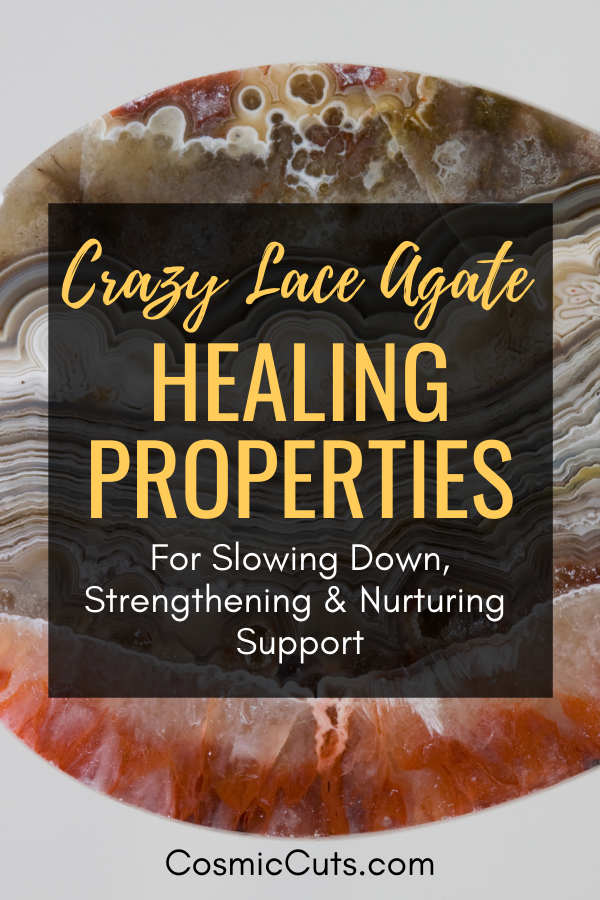 Crazy Lace Agate Healing