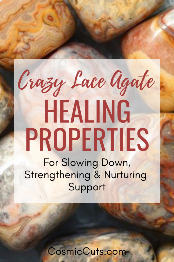 Crazy Lace Agate Healing Properties