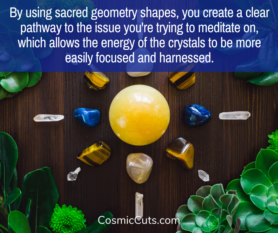 Crystal Meditation and Sacred Geometry