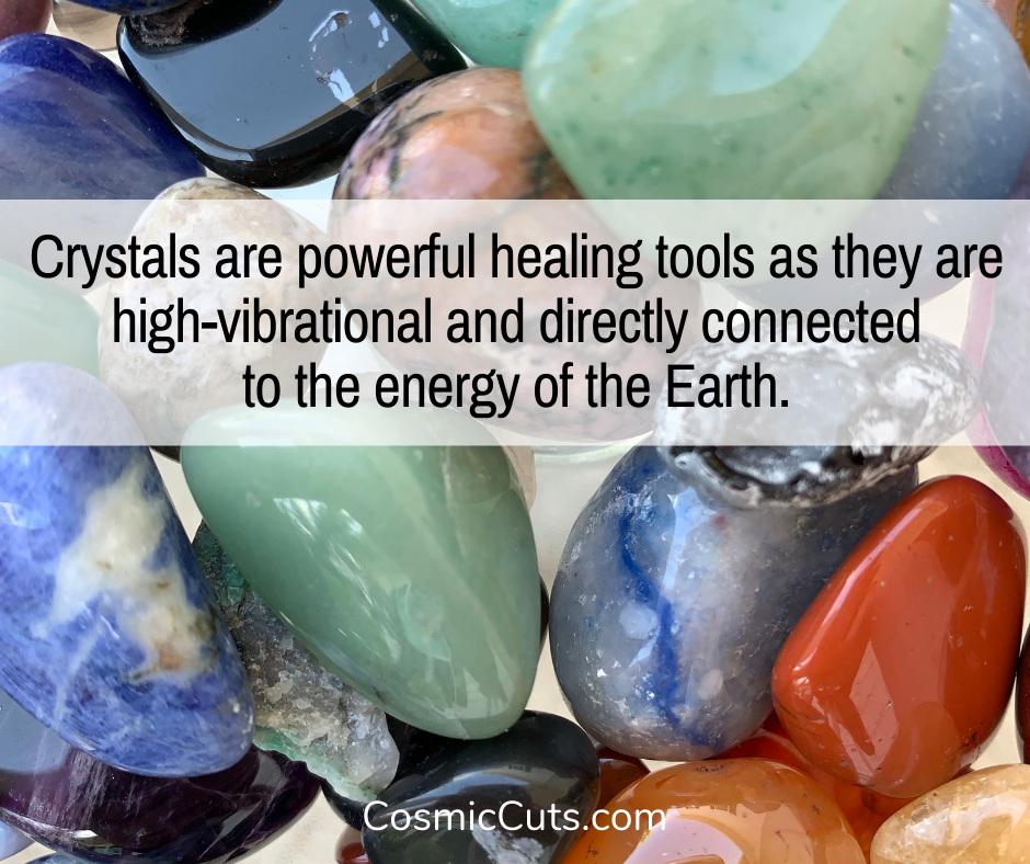 Crystals Are Healing Tools