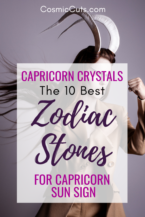 Crystals for Capricorn