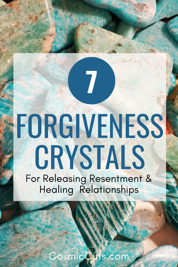 Crystals for Forgiveness