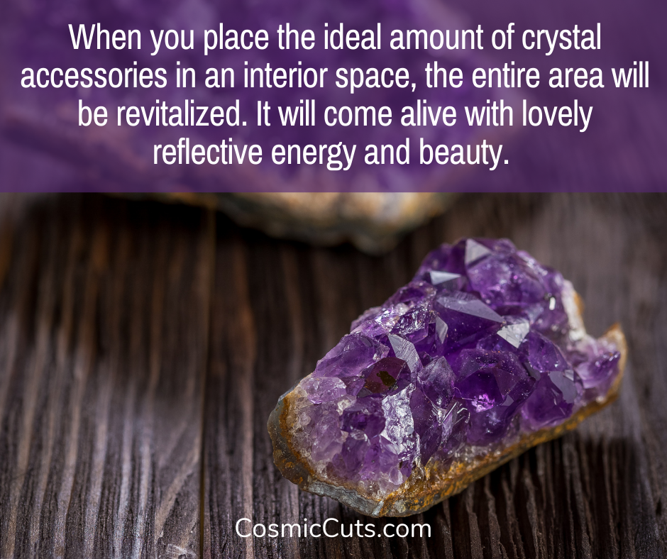 Decorate With Crystals