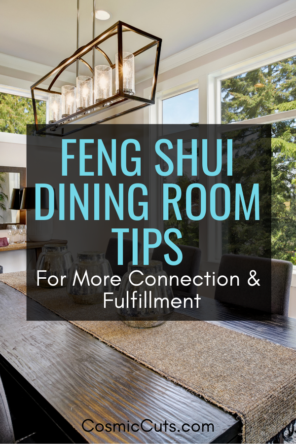 Dining Room Feng Shui Tips