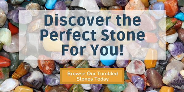 Crystal Tips Tumbled Stones