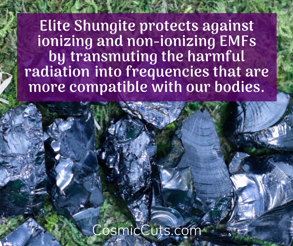 Elite Shungite for 5G Protection