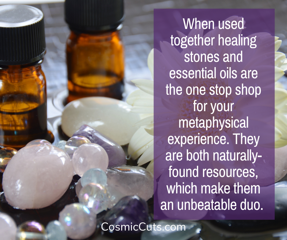 Essential Oils and Crystals
