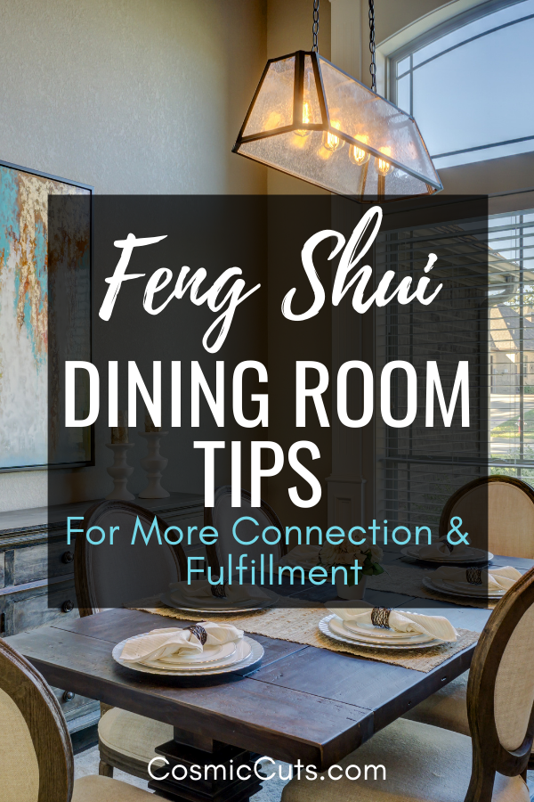 Feng Shui Dining Room Tips
