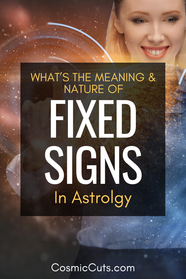 Fixed Astrology Signs