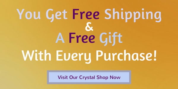 Free Shipping and Free Gift When You Buy Crystals