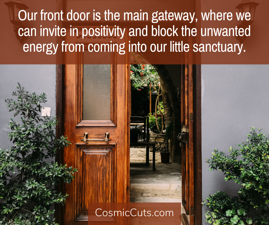 Front Door Feng Shui Quote Image