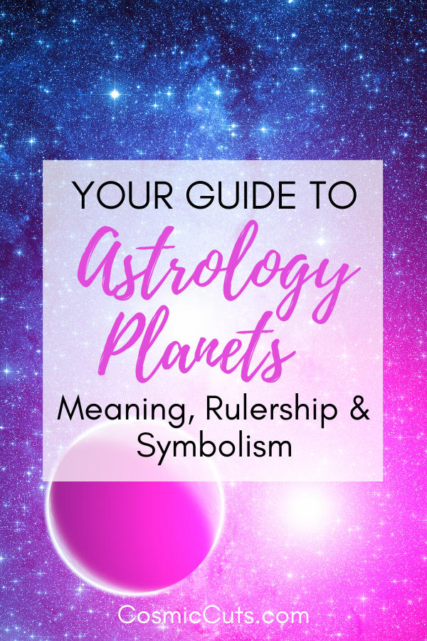 Guide to Planets in Astrology