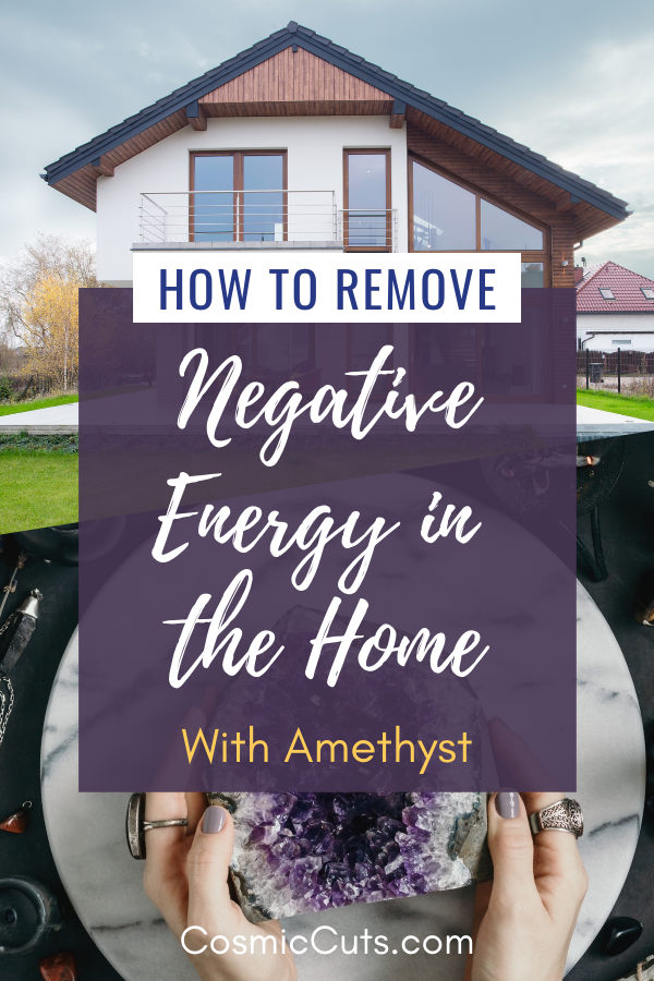 How to Remove Negative Energy With Amethyst