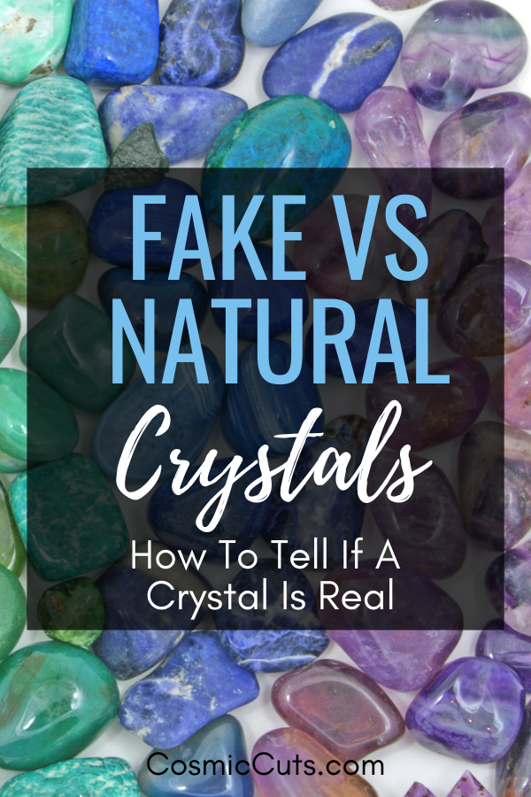 How to Tell Natural Crystals