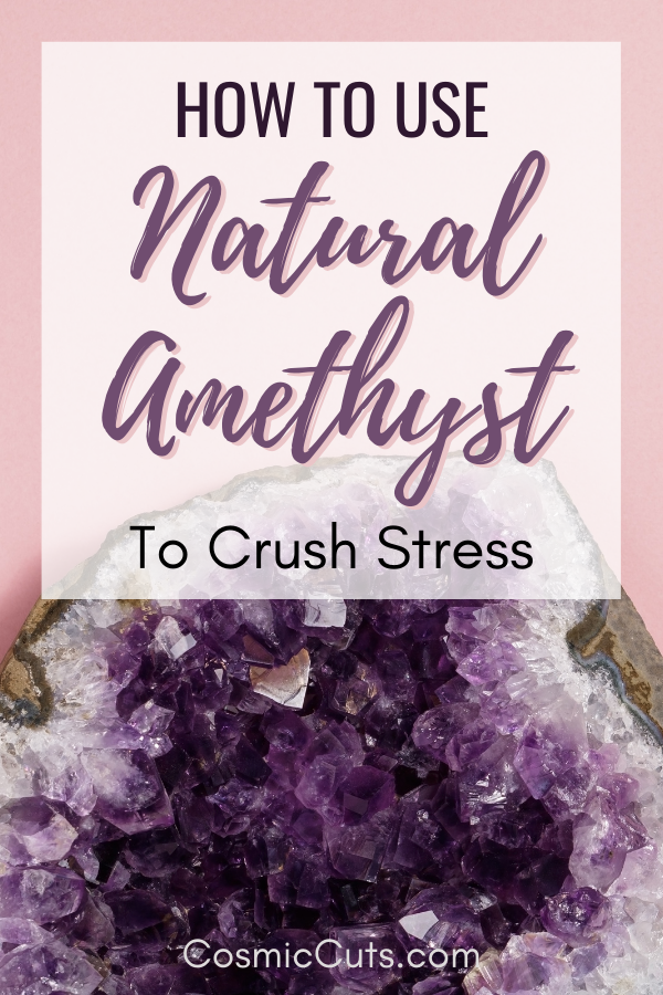 How to Use Amethyst for Stress
