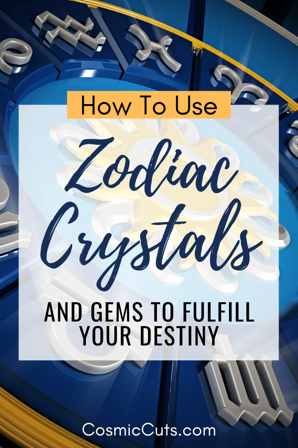 How to Use Zodiac Crystals