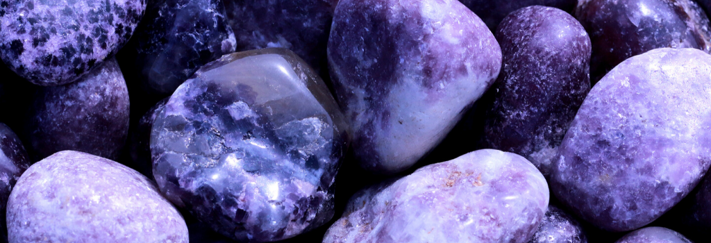 Lepidolite Crystals for Grief