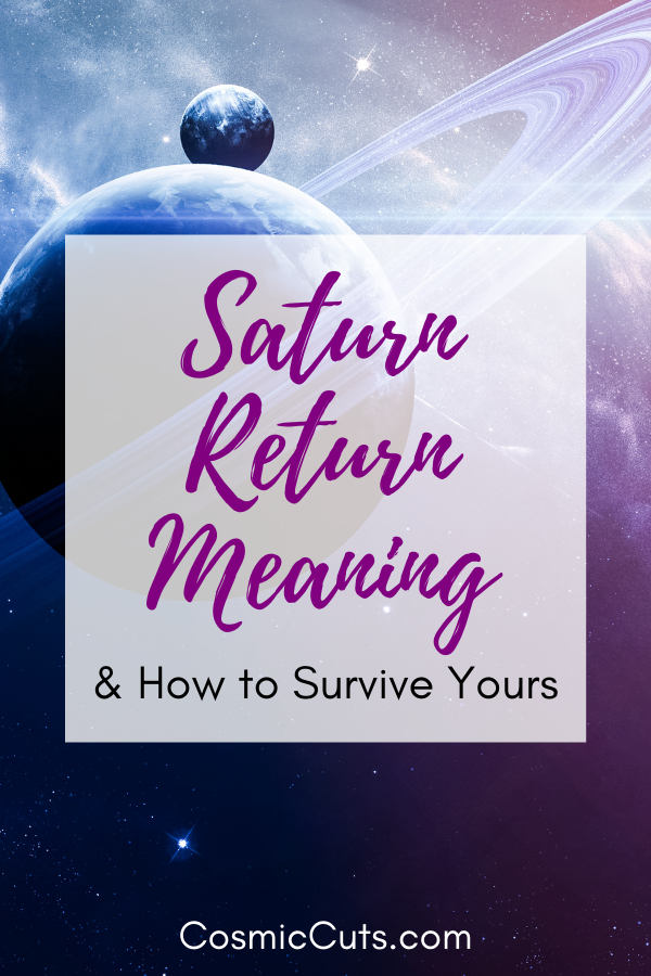 Meaning of Saturn Return