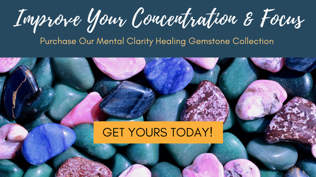 Mental Clarity Healing Gemstone Collection