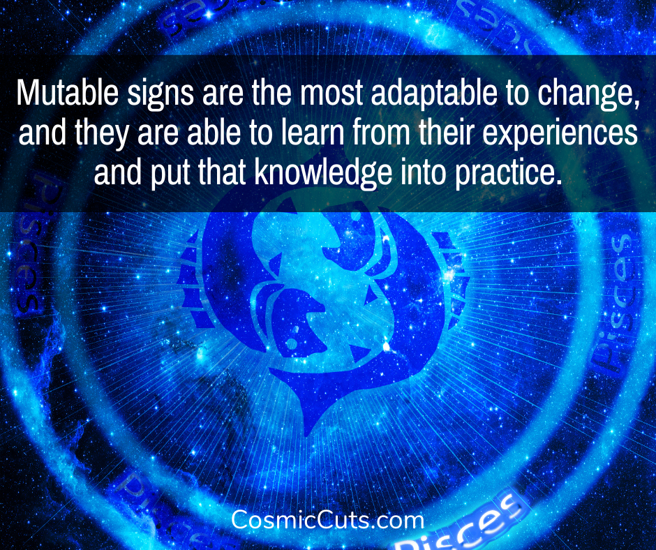 Mutable Signs of the Zodiac