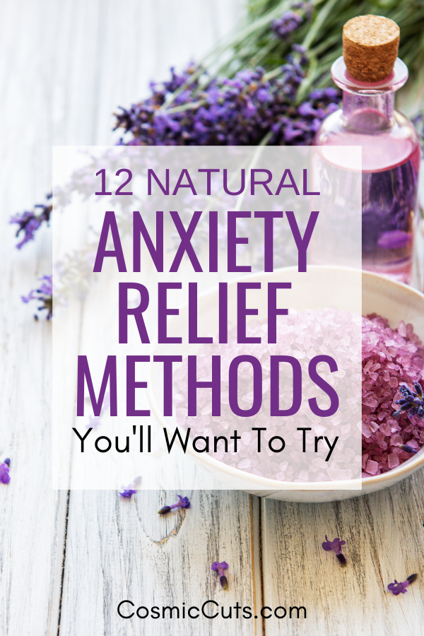 Natural Anxiety Relief Methods