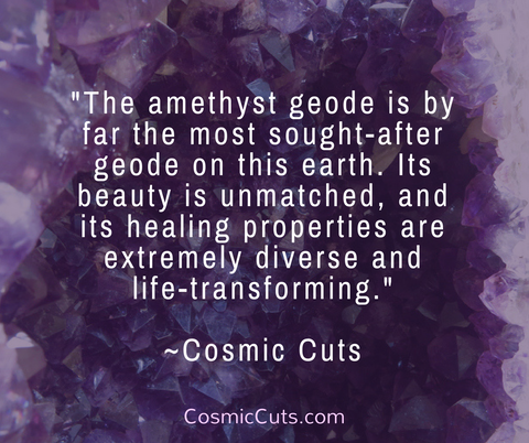 Amethyst Geode Benefits