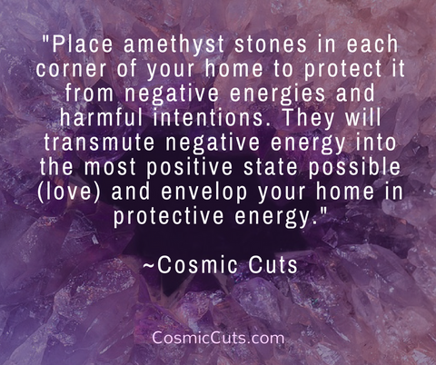 Natural Amethyst For Protection