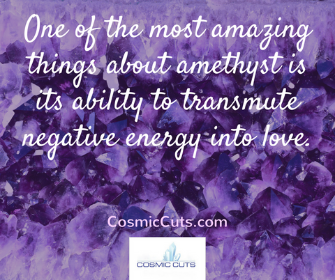 Amethyst Large Geode Quote Image 3