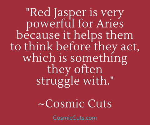 Aries and Red Jasper